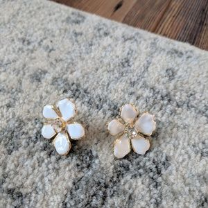 J. Crew • Floral Earrings